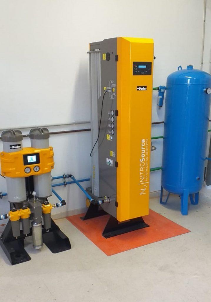 sistema de generación de gas